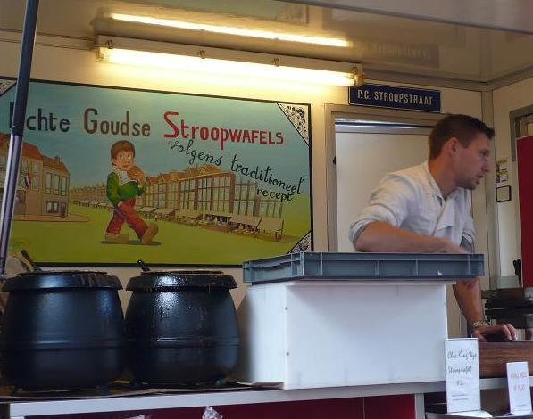 The stroopwaffle man.