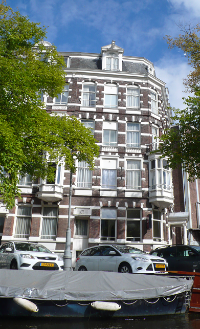 The Quentin Amsterdam where I stayed: much better than its online reviews.