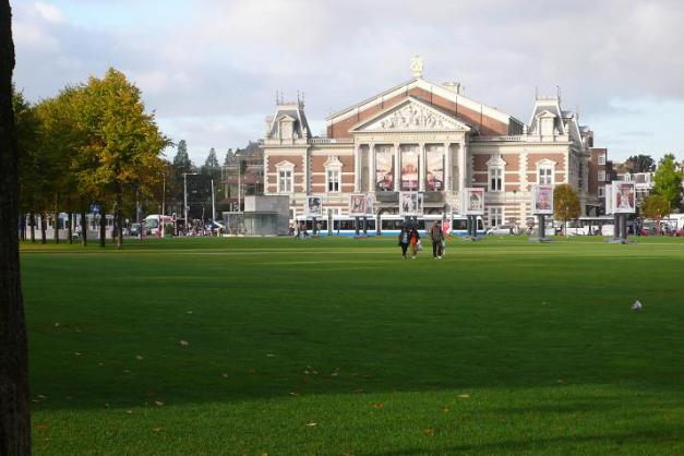 Concertgebouw on the Museumplein.